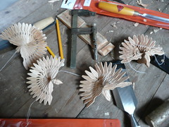 learn to make fan birds