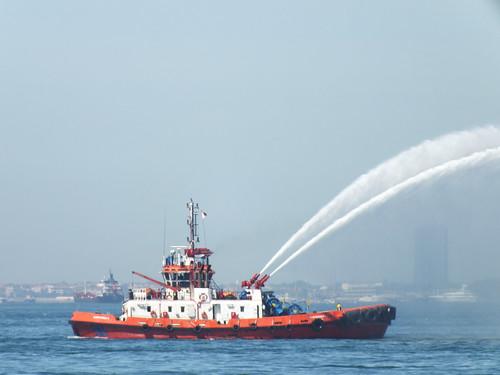 A tűzoltó hajó is gróf Széchényi Ödön találmánya