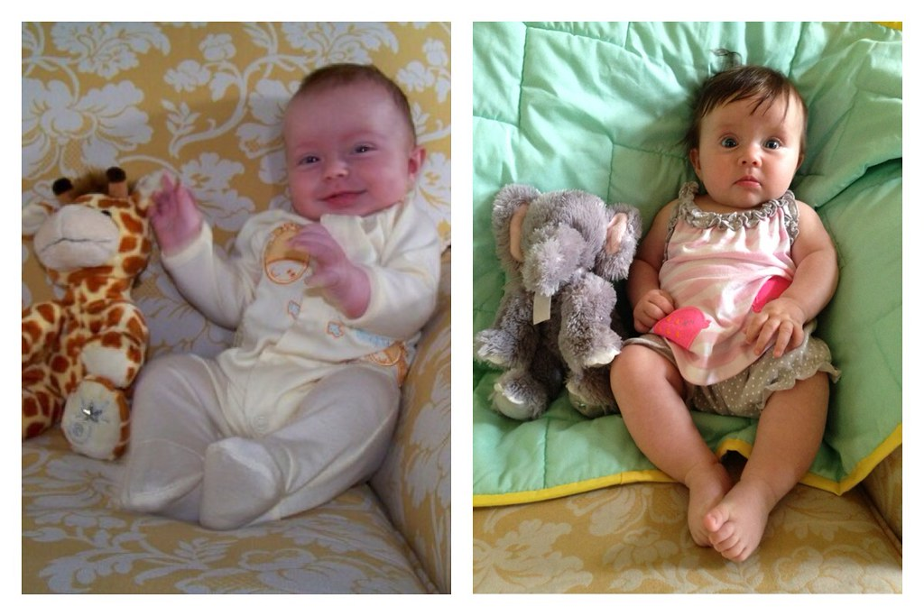 Connor and London comparison at 3 months