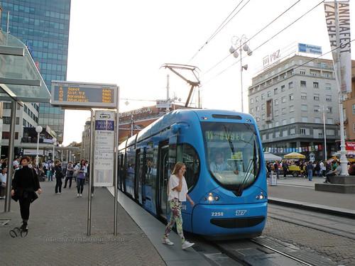 Ban Jelačić Square - Tram
