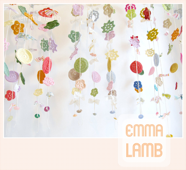 There's been a handful of gorgeous Merry Mobiles hanging in my studio lately! | Emma Lamb