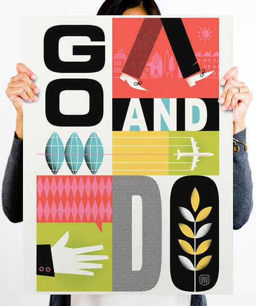 Go-And-Do-Poster_ Brad Woodard