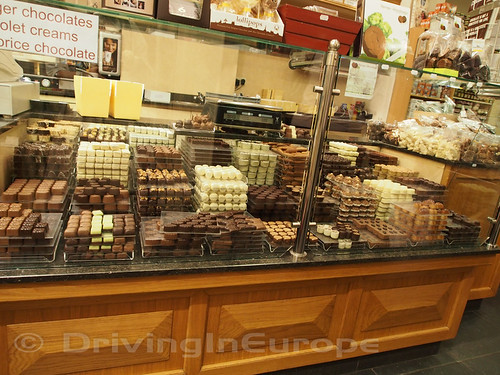 ベルギーチョコレートの店