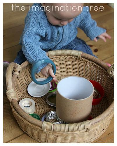Circles Treasure Basket (Photo from The Imagination Tree)