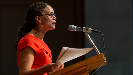 Melissa Harris-Perry giving a talk