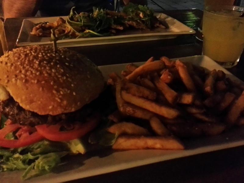 Watermark burger