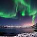 Nightsky in Troms by John A.Hemmingsen