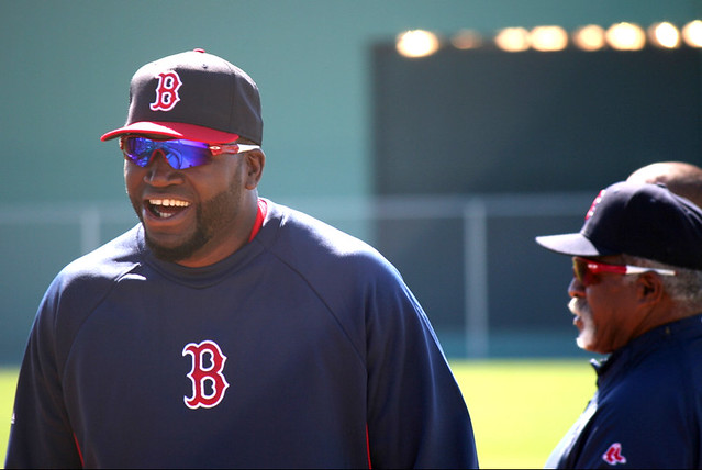 Big Papi @ Red Sox Spring Training Camp