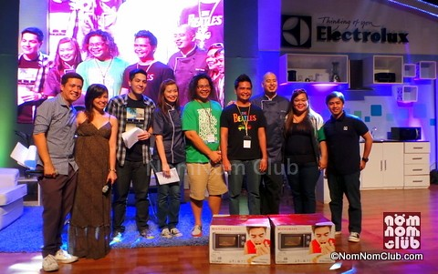 Winners of the On-The-Spot Cooking Contest: Byahilo and Pinoy Adventursita