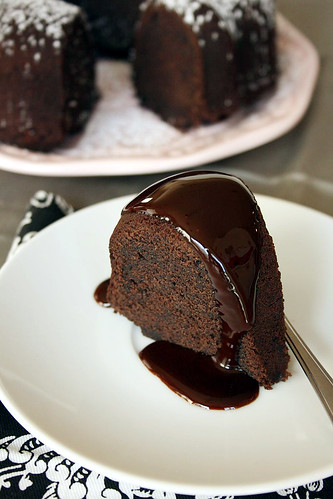 Chocolate Velvet Pound Cake