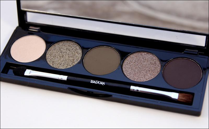 IsaDora highlands eye shadow palette2