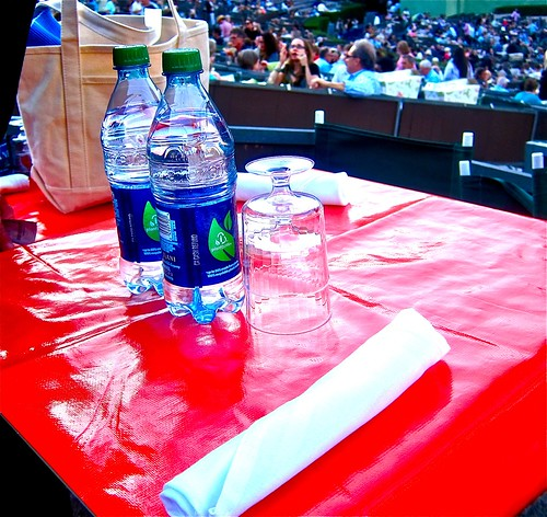 table upon arrival