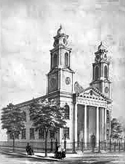 second dutch church beaver street  Albany NY  1800s