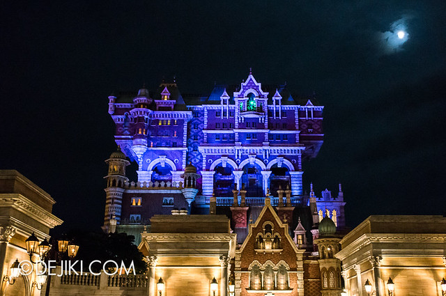 Tokyo DisneySea - Tower of Terror / haunting at night