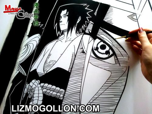 manga de sasuke