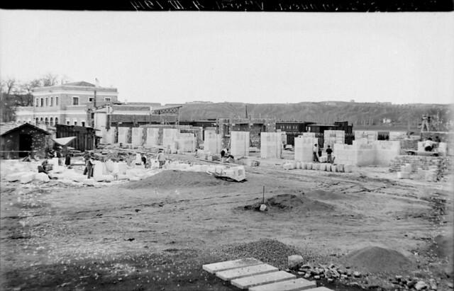 Estación de ferrocarril de Toledo el 4 de marzo de 1914  © Archivo Histórico Ferroviario del Museo del Ferrocarril de Madrid. Fotografía de F. Salgado. Signatura 0464-IF MZA 0-8