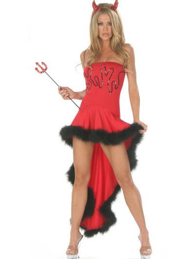 Sexy pic, devil blond, model blond kostüm, hot girl, amazing legs, hübsche lange beine, beine frau, high heels