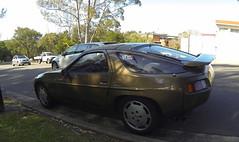 race car, automobile, automotive exterior, vehicle, porsche 928, land vehicle, sports car,