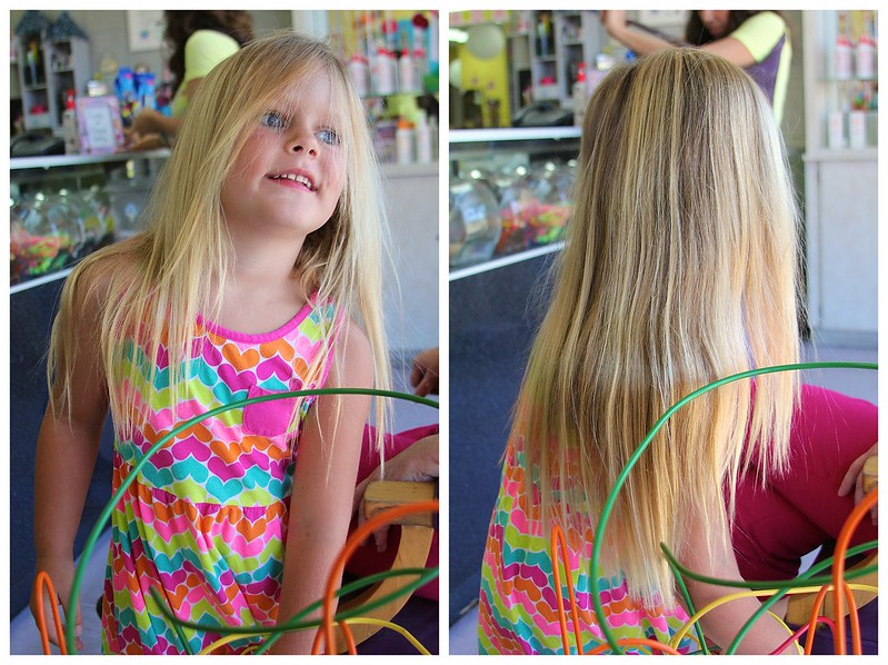 Giulietta's Big Girl Haircut 8-2013 5