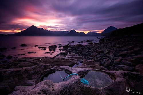 Elgol - Sunset on Skye by David Hannah
