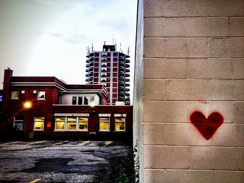 Heart on mind and wall - #274/365 by PJMixer