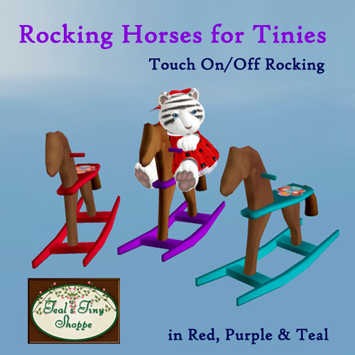 Rocking Horses for Tinies by Teal Freenote
