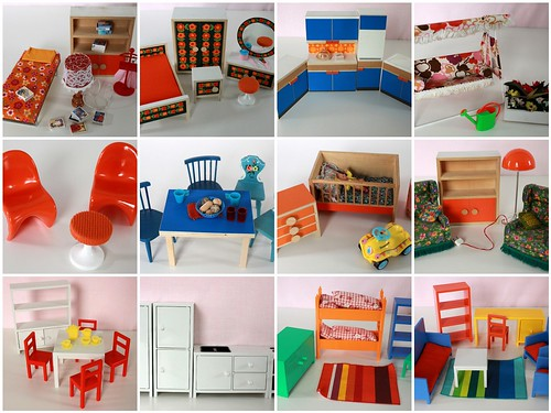 Bodo Hennig & Ikea Lillabo dollhouse furniture