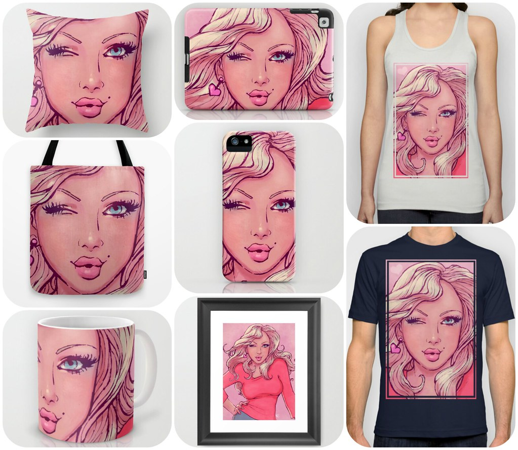 JuicyBomb merchandise @ Society6