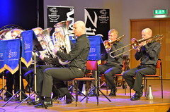 Brassbandfestivalen 2013 - Eufonium- och trombonsektion, Windcorp Brass Band (Foto: Olof Forsberg)