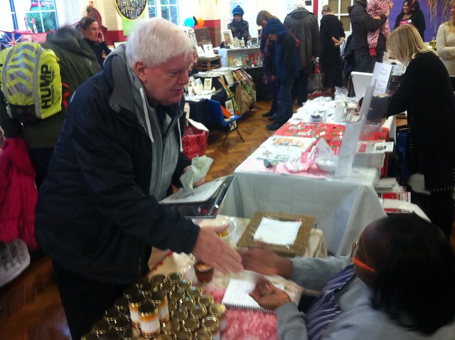 John Fahy at Halstow Craft Fair