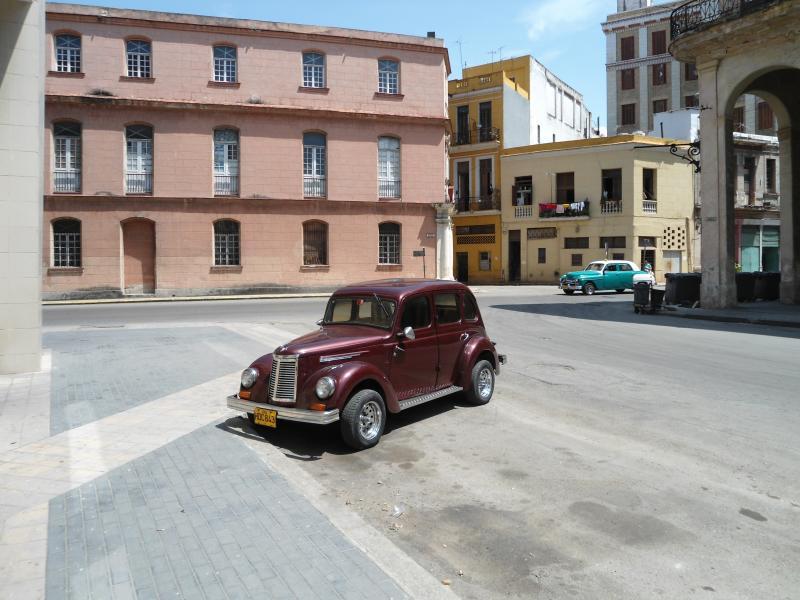 Autos Antiguos en La Habana