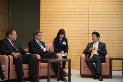 U.S. Department of the Treasury: Secretary Lew meets with Japan Prime Minister Shinzo Abe (Wednesday Nov 20, 2013, 1:10 PM)