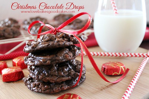 Christmas Chocolate Drops 2