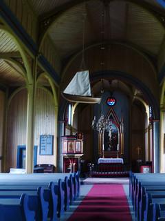 Die neue Kirche von Kvernes
