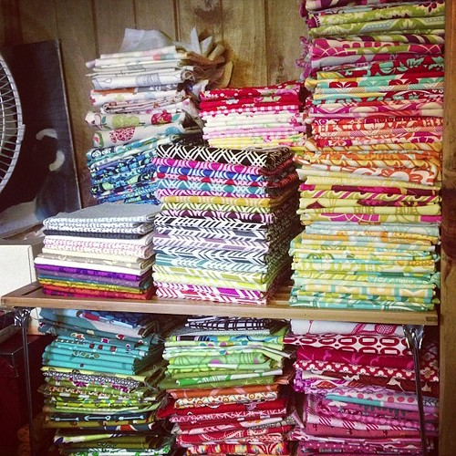 Fat quarters ahoy!