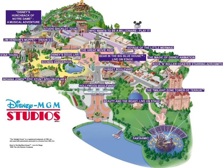 hollywood studios map 2016 pdf