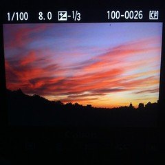 Colour in the sky #edmonton #yeg #sunset