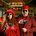 Carmine and Clancy Leroux, The Red Photographers of Chinatown by Studio d'Xavier