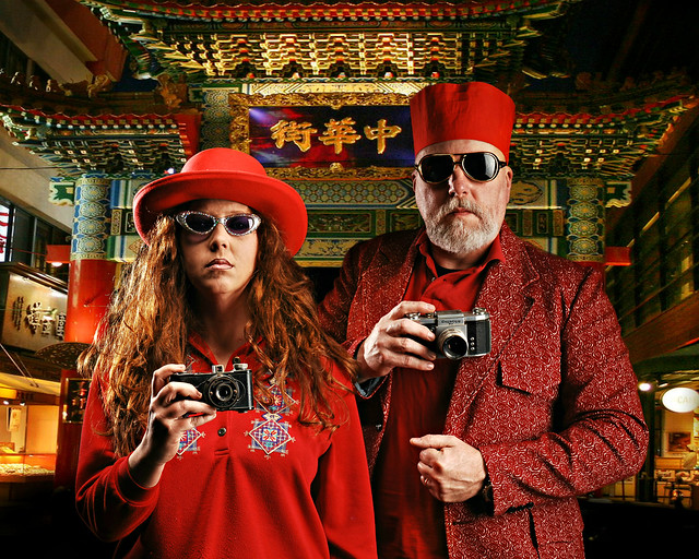 Carmine and Clancy Leroux, The Red Photographers of Chinatown