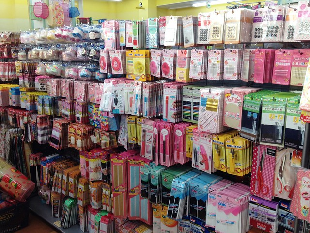 Sewing Notions Inside Daiso