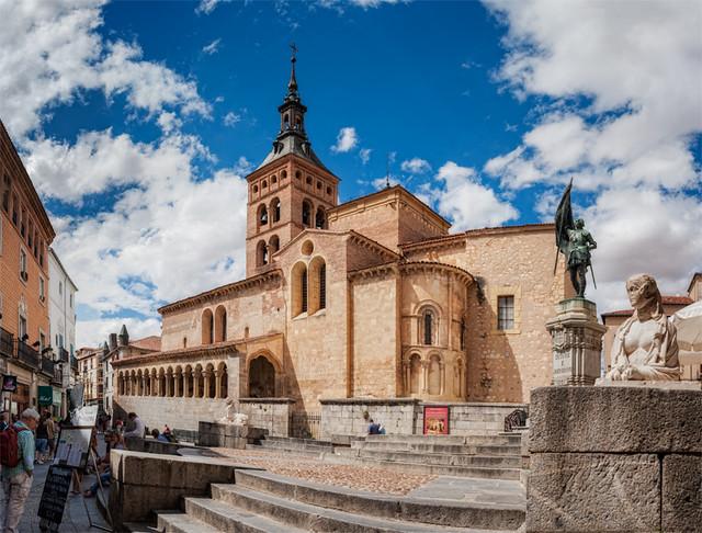 Church – Iglesia de San Martín, Segovia (Spain)