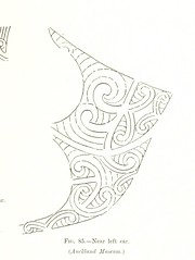 """British Library digitised image from page 111 of """"Moko; or, Maori Tattooing ... With ... illustrations, etc"""""""