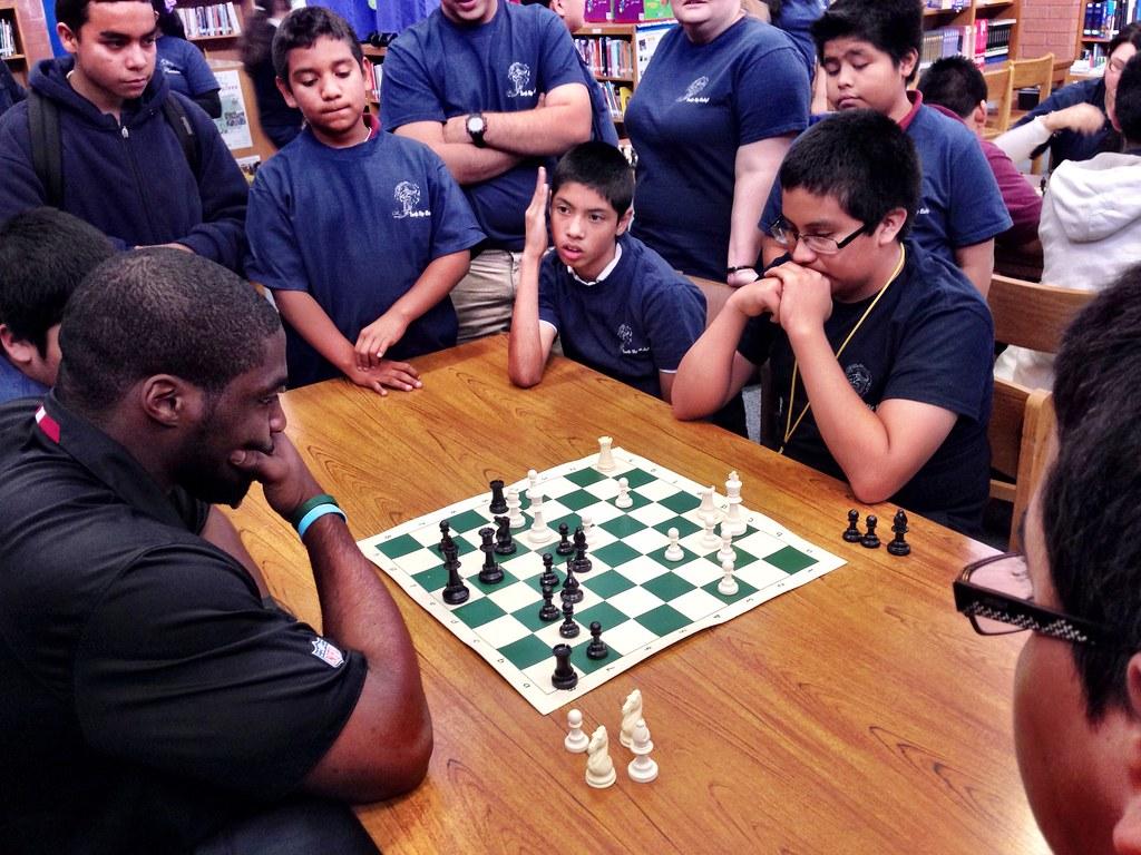 Chess Battle Sam Acho