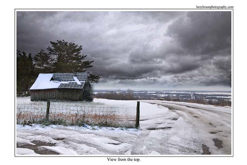 winter snow art field horizontal barn fence landscape missouri hdr combo 2013 scottcounty 201312 2013declb