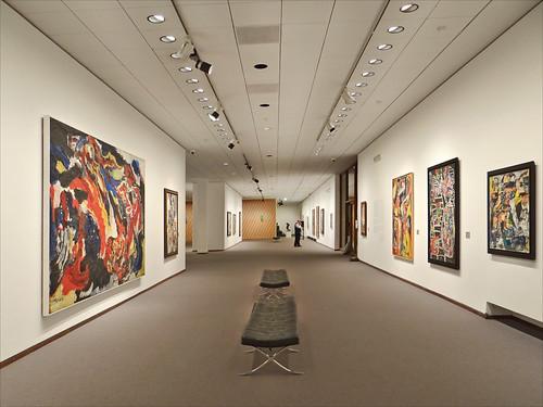 Neue Nationalgalerie - Sala espositiva