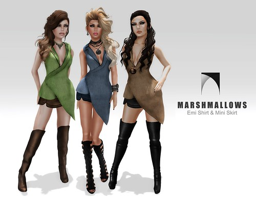 Marshamllows @ SL Fashion Week by Romy Dash :: Marshmallows ::