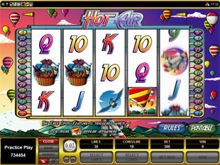 Hot Air Slot Machine