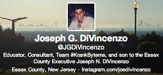 Screen cap @JGDiVincenzo Twitter Profile