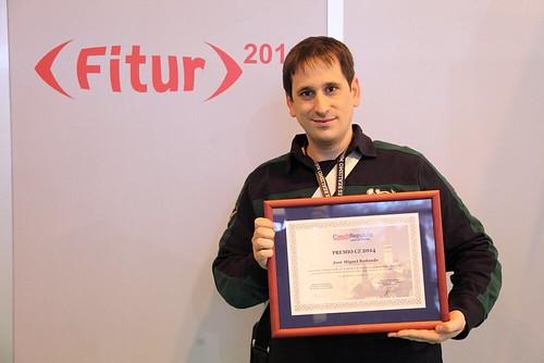 Sele con el Diploma CZ que entrega la Oficina de Turismo de República Checa