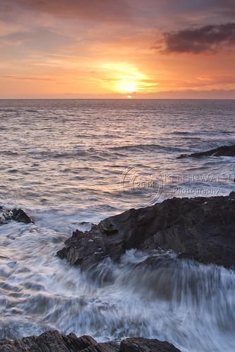 ocean blue sunset sea sky orange sun white water sunrise rocks break crash hard wave ground together 09 foam lee nd land splash grad 1740f4 1740f4l 1740mmf4l kilmichael 1740mmf4 leefilter leefilters canoneos7d canon7d 09ndhardgrad 09ndsoftgrad kilmichaelpoint